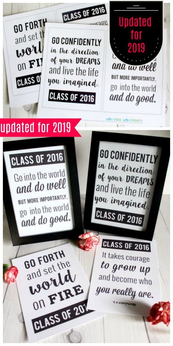 Graduation Quotes Free Printable
