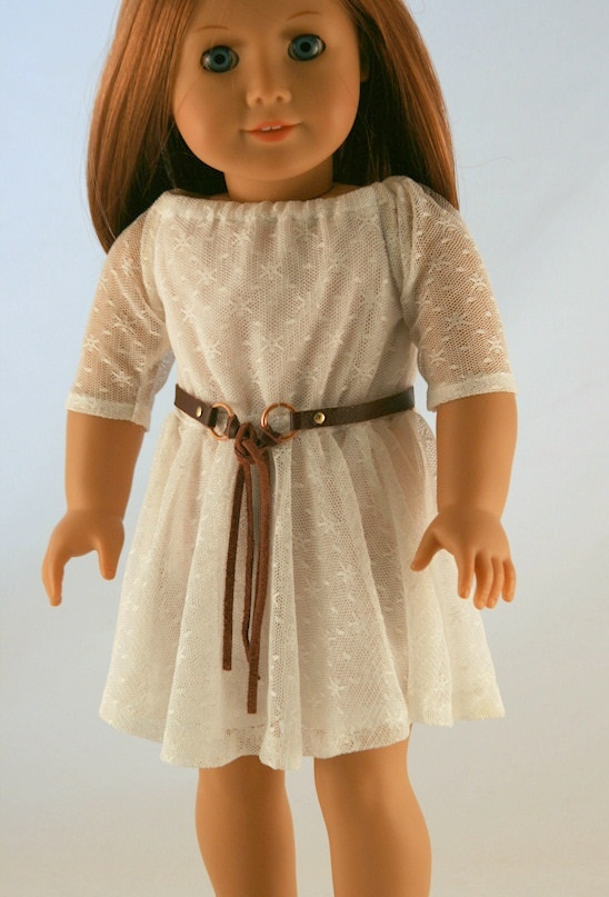 A look-alike dress inspired from a design in a Delias catalogue.  Several Liberty Jane patterns were combined to make the dress.