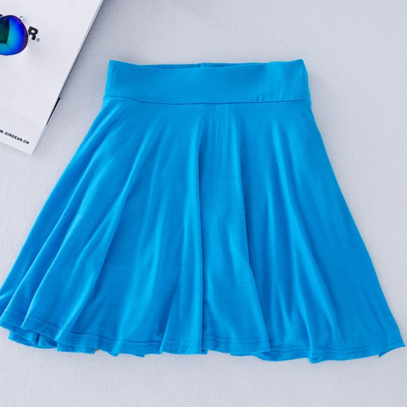 Free shipping women divided skirt plus size pantskirt 6xl 5XL 2015 summer new modal large size Culotte Skirts shorts blue JM59 #Affiliate