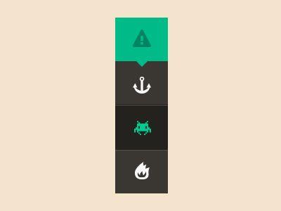 #Flat #Metroesque #Selector #UI | #design #ux #mobile #web #metro #inspiration