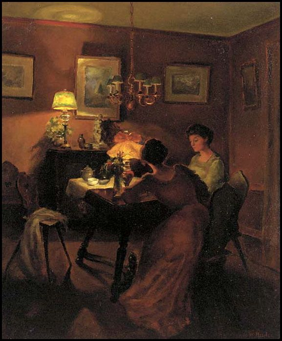 Famous Interior Paintings: 264 Best Images About Domestic Arts: Interior On Pinterest