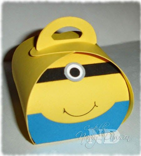 Stampin' Up Curvy Keepsakes Minion Box