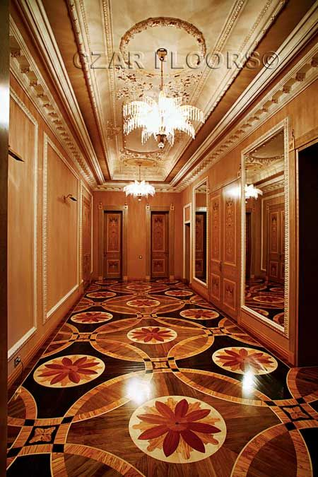 We design, craft and supply unique Wood and Natural Stone Floor Medallions, Borders, Custom Inlays and Parquet Flooring. Buy Direct from the industry leader, made in U.S.A. custom floors.