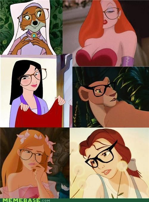 Hipsters princess.