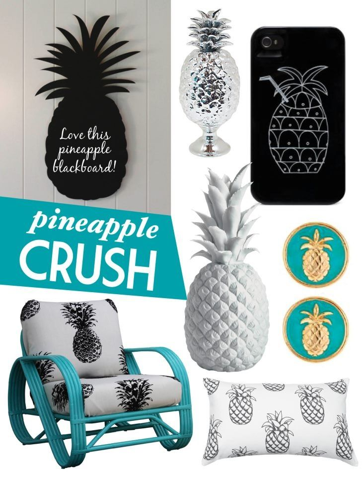 pineapple decor a collection of home decor ideas to try