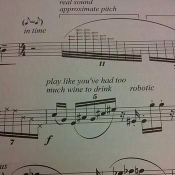 13 bizarre, perplexing and distressing performance directions, by Kyle Macdonald, 26th March 2015, Classic FM.