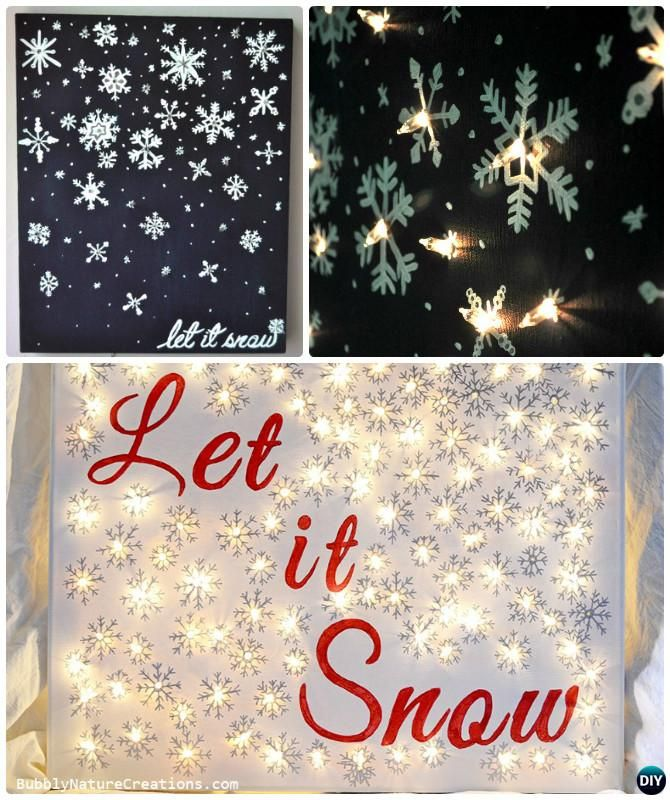 Best 25+ Light up canvas ideas on Pinterest Light up christmas gifts, Christmas canvas and ...