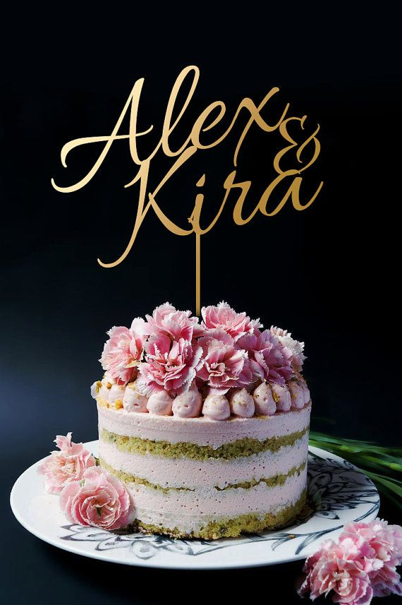 All Wedding Cake Topper made with Love, We use 3mm Acrylic and MDF wooden board to create cake toppers. You find in our shop a variety of cake topper like Custom Cake Topper, Wedding Cake Toppers, Monogram cake Toppers and many cake toppers for Birthday, Anniversary and for every