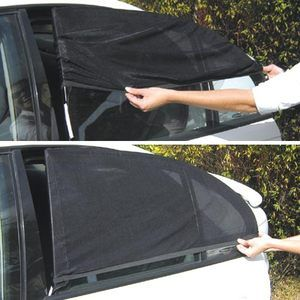 car window screens...this would be easy to customize and make.