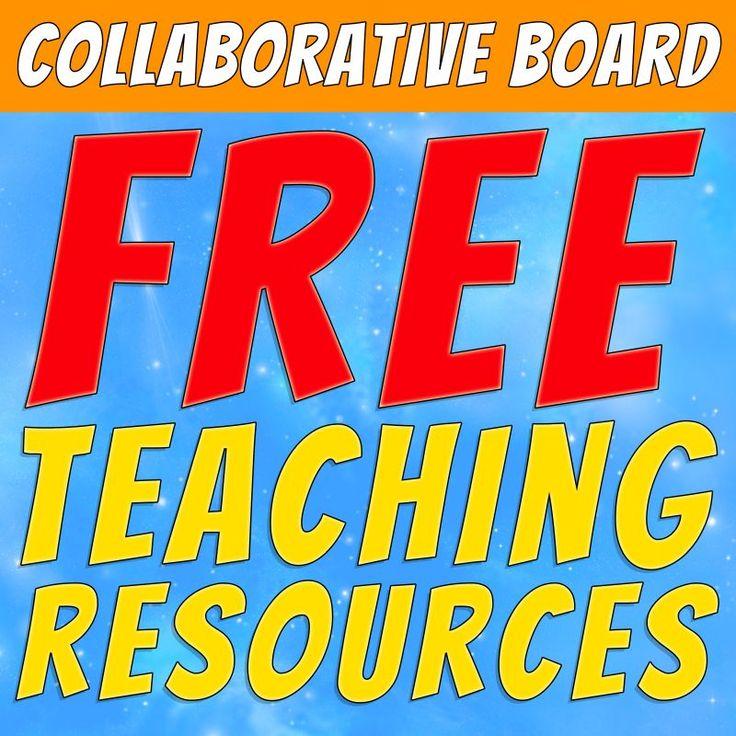 Collaborative Classroom Pilot Resources ~ Best free teaching resources collaborative board