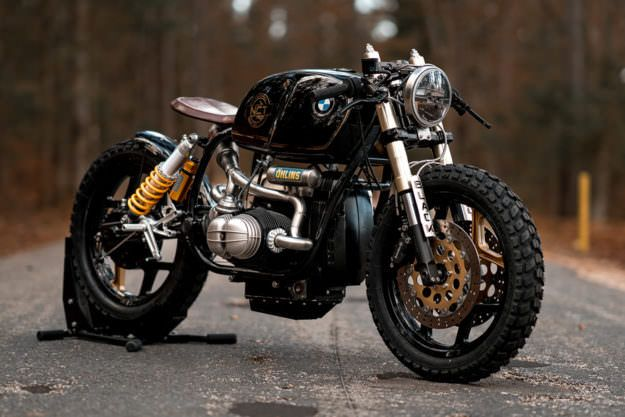 """bike-exif: """"Here's one of the best amateur cafe racer builds we've seen in a long while. It's a Yamaha TR1 by Dutchman Roland Snel, who's taken inspiration from Virago specialist Greg..."""