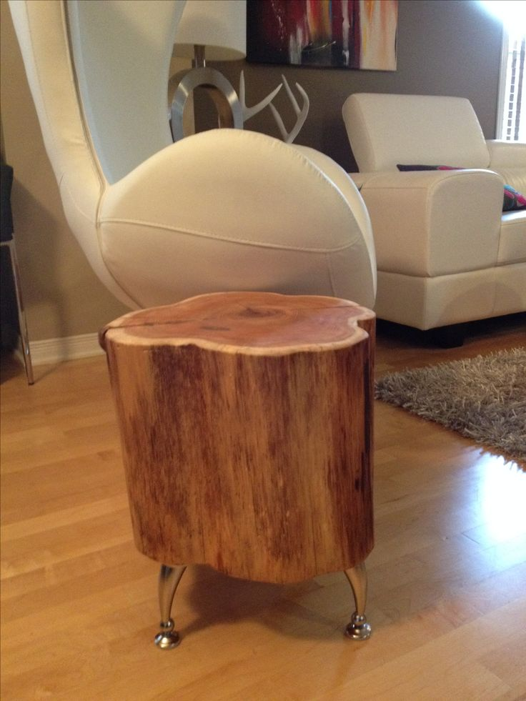 25 best ideas about Tree Stump Furniture on Pinterest