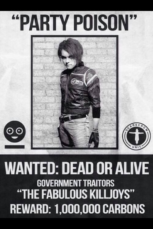 Gee - Party Poison #killjoys