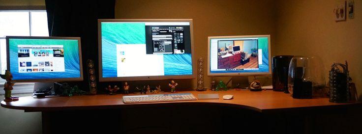 #OfficeDesign #Macintosh   Ruang kerja pengguna Apple Mac Computer - J.J. Sefton