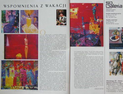 """Beata Wąsowska, wystawa """"Dowód na usta"""" w galerii SD, Warszawa, WERANDA, tekst Stanisław Gieżyński"""