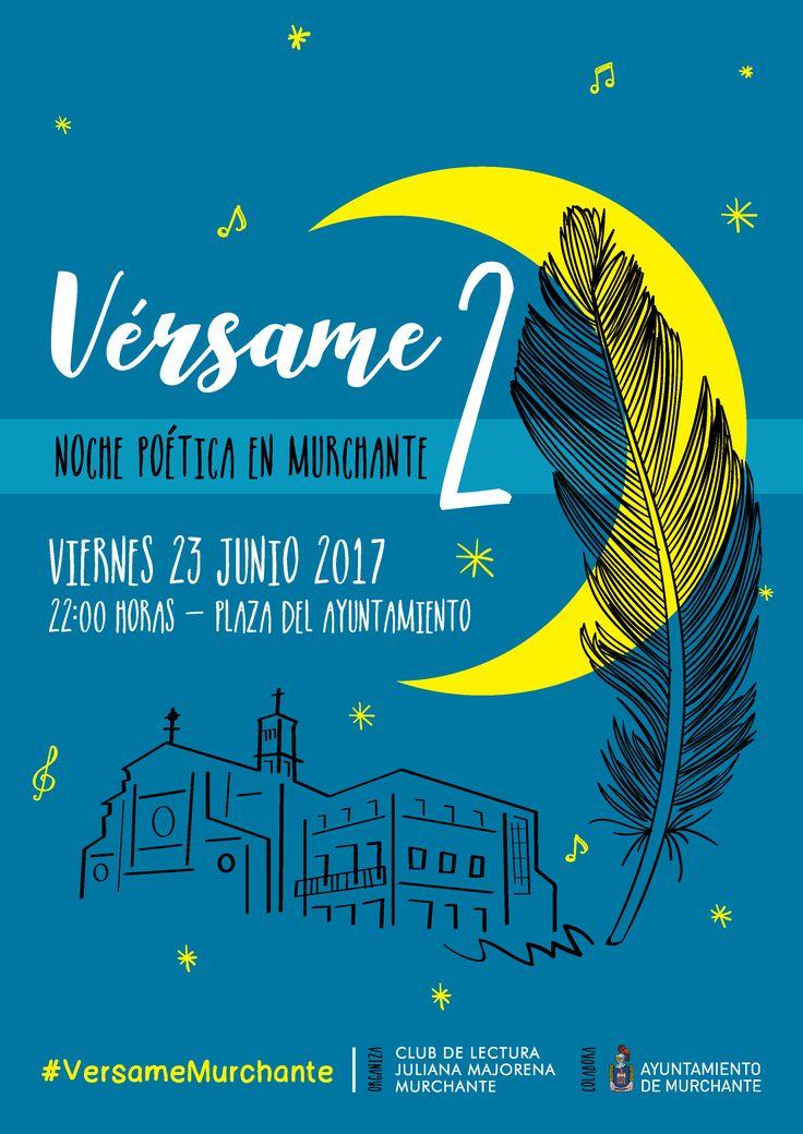 El recital VÉRSAME 2. NOCHE POÉTICA EN MURCHANTE ya está más cerca, de las manos y voces del Club de Lectura Juliana Majorena. Y este año pinta y suena muy bien. 🎭🎷🎭🎷