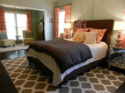 Eclectic Master Bedroom With Surya Flat Weave Rug Atticmag Master Pinterest Master