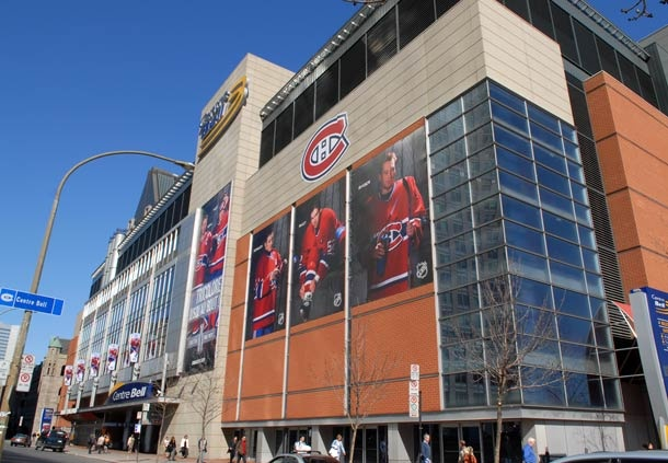 Bell Centre- Montreal Canadiens