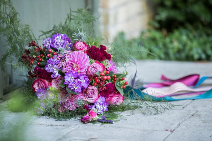 Bridal Bouquet from The Little Shed Flower Company
