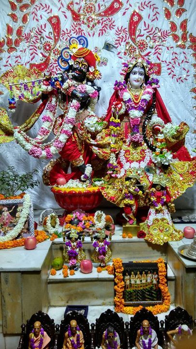 Today's Festival 1. गर परणम  2. शरल सनतन गसवम तरभव दवस  3. चतर मस क पहल महन (fast from green leafy vegetable for one month) Temple Programs मदर मरजन सव Temple MAHA CLEANING Seva From 5-7 PM  Followed by -  #Sunday Love Feast Aarti Kirtan Katha Prasadam  From 7-9 PM Everyone is invited.   Chant Hare Krishna and be happy!  #radha #krishna #Prabhupada #devotion #harekrishna #ISKCON #Chandigarh #love #happy #beautiful #gorgeous