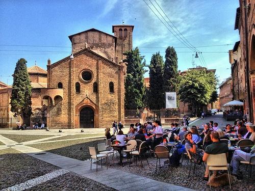 Bologna / Piazza Santo Stefano.