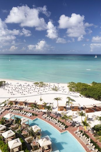 The Ritz-Carlton, Aruba - Pool and Beach View
