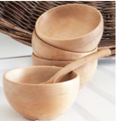 handturned cawl bowl made from local sycamore, west wales. buy from blowden.