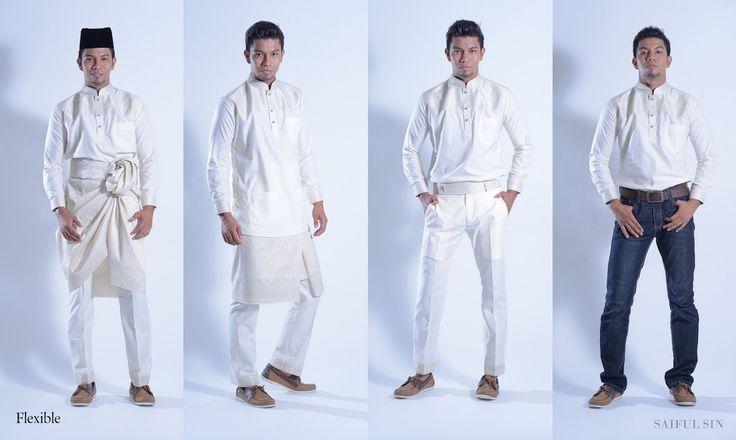 Contemporary Baju Melayu
