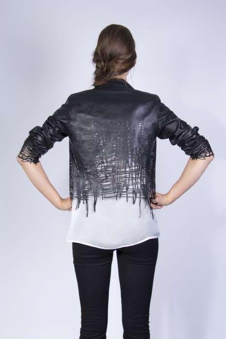 Drawn Jacket back by Elvira T Hart.