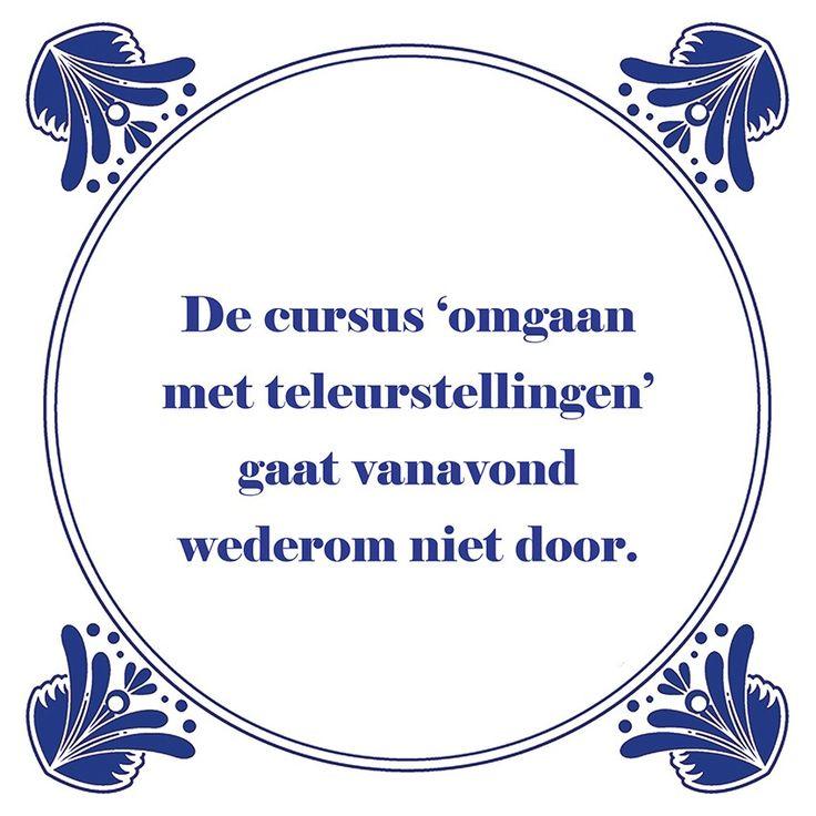 Tegeltjeswijsheid.nl - een uniek presentje - De cursus