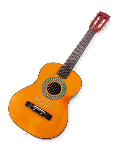 Schoenhut+6+String+Acoustic+Guitar+Oak+Mahogany