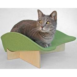Midcentury cat bed in...