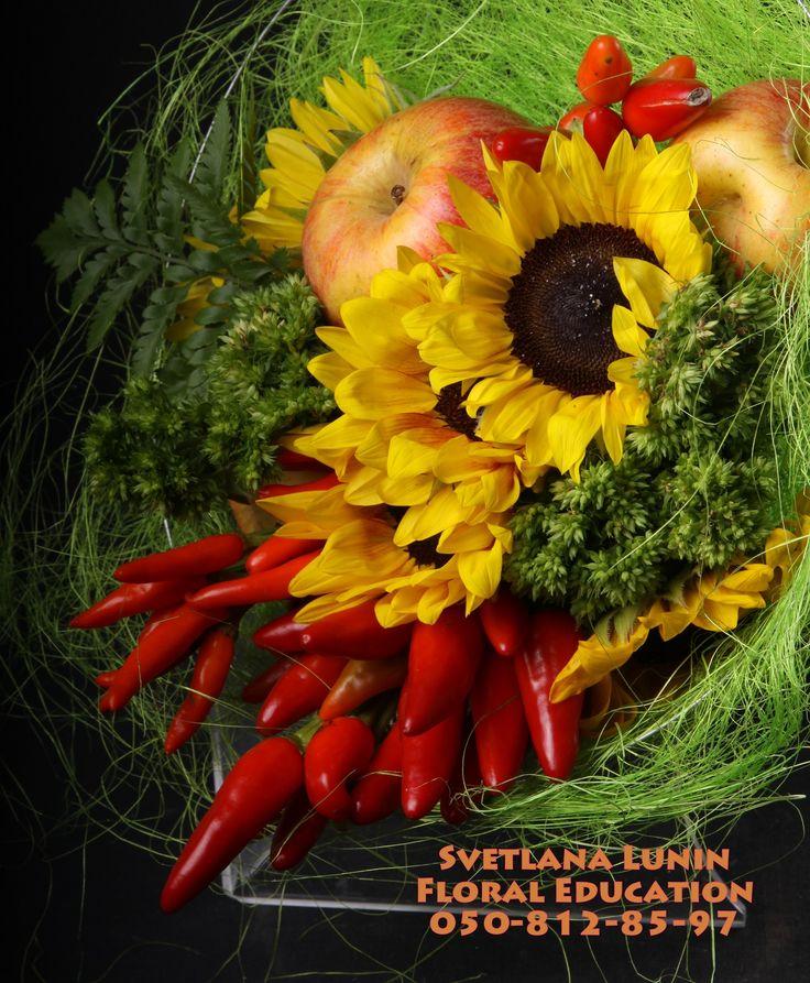 Professional floral design course of Svetlana Lunin (beginners)
