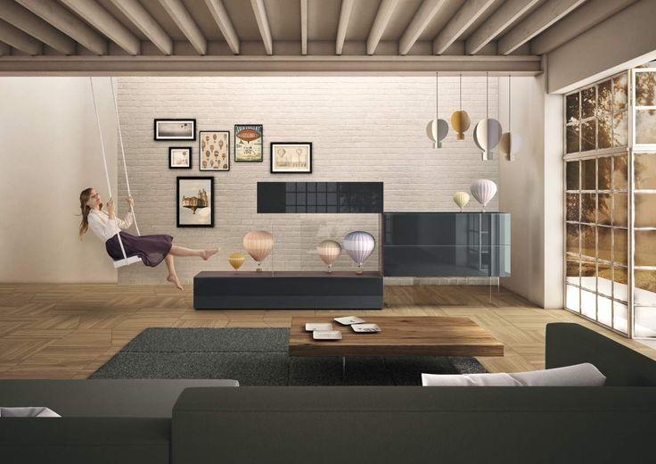 Lightness | Living room by #lagodesign