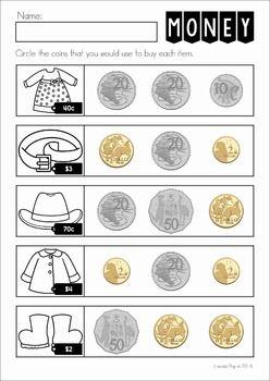 Australian Money No Prep Worksheets Australian Money Teaching Money Money