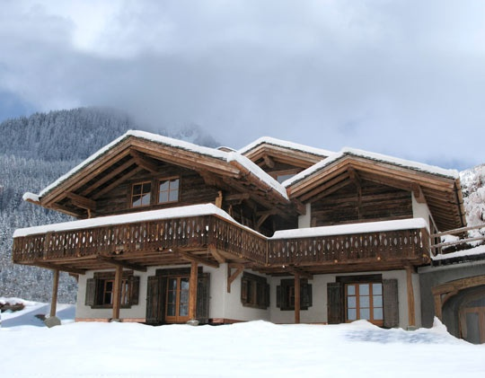 Ski Chalets, I know lots of countries that I would like some of these in.