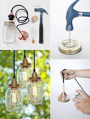 Lamp zelf maken