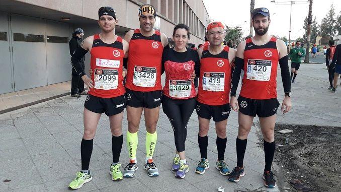 C.D. Navalmaratón participa en la EDP Media Maratón de Sevilla, Media Maratón Ciudad de Getafe y en la Ultra Trail Trilhos Dos Abrutes.