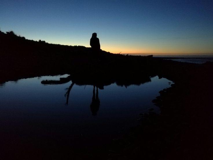 Bell Block beach sunset