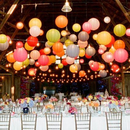 Die besten 25 lampions party ideen auf pinterest - Hochzeitsdeko altrosa ...