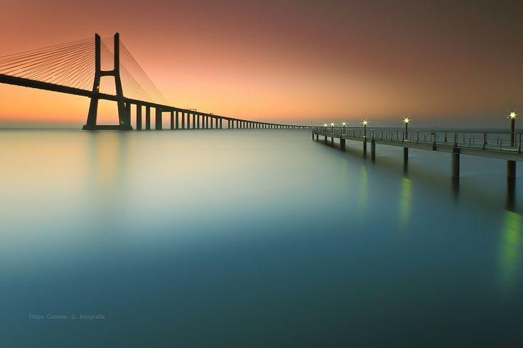 Lisbon, Vasco da Gama Bridge. Accomodations: http://www.feriasemportugal.pt/en/lodgings/key-lisboa/