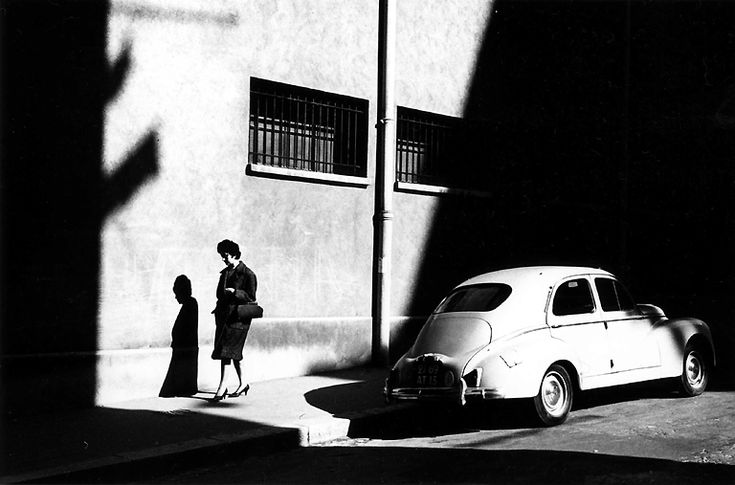 Ray K. Metzker- the strong contrast between darks and lights are great use of high contrast.