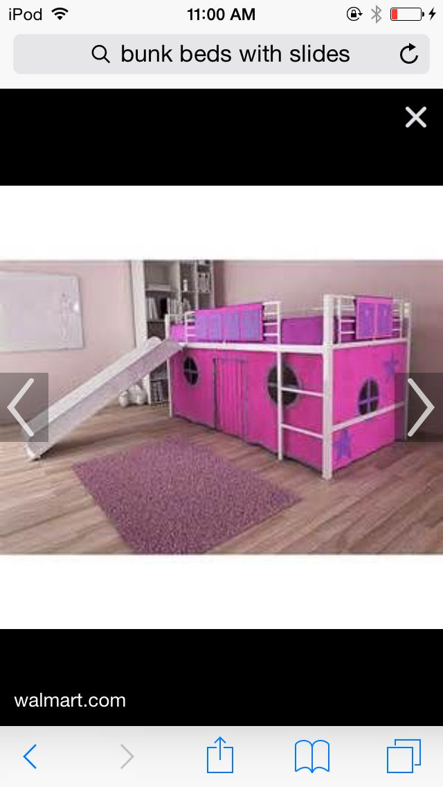 Girls Bunk Bed With Slide Hide Out · Coole EtagenbettenMädchen  EtagenbettenEtagenbett Mit Rutsche