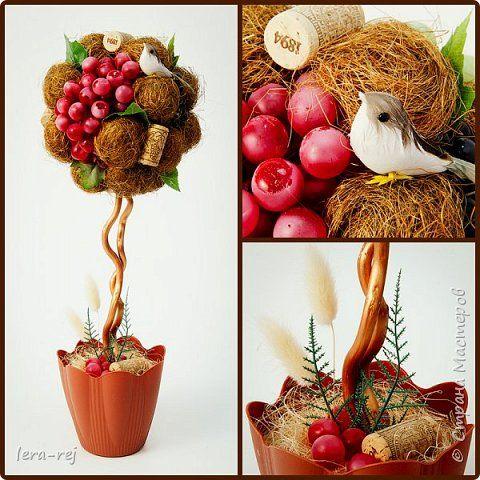 Работы из сизалевых шариков. Вдохновитель - Мария Шарафеева. Огромное спасибо фото 3