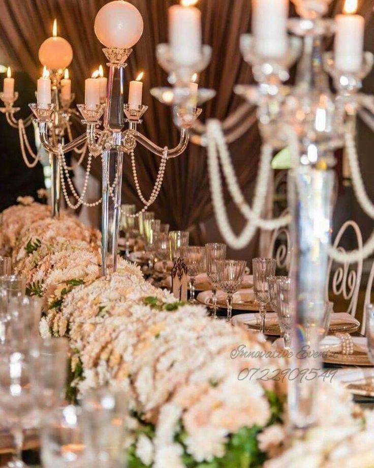 Wedding decor centre pieces