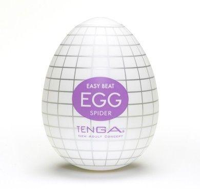 Tenga Egg Spider fra Tenga - Sexlegetøj leveret for blot 29 kr. - 4ushop.dk - TENGA - betyder elegant, raffineret, yndefuldt, pænt på japansk - beskriver Tenga produkterne perfekt. Tenga produkterne er stilfulde, inovative og sjove. TENGA giver en verden af ekstraordinære seksuelle oplevelser gennem top ingeniørkunst og fineste kvalitet materialer. TENGA produkter er det bedst sælgende sexlegetøj til mænd i Japan, og dens popularitet er øget hurtigt i resten af verden.