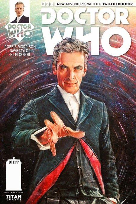 Comic-Soon: DOCTOR WHO, IL DODICESIMO DOTTORE A FUMETTI DA OTT...