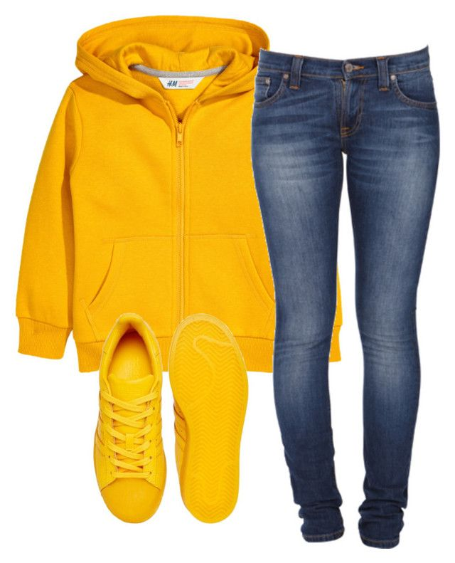 """Untitled #347"" by tdgaaf on Polyvore featuring Nudie Jeans Co. and adidas Originals"