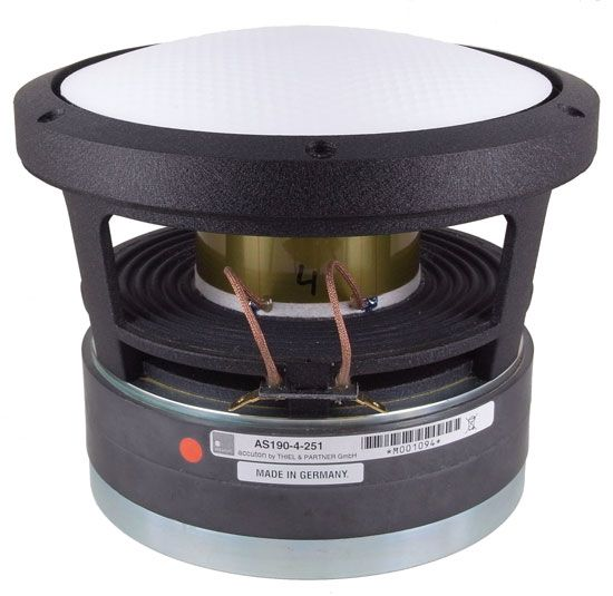 "Accuton Cell AS190-9-251 8"" Aluminum Sandwich Dome Woofer"