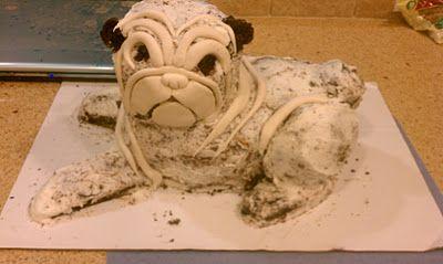 Sweet Bea's: My Pug Cake Making Journey